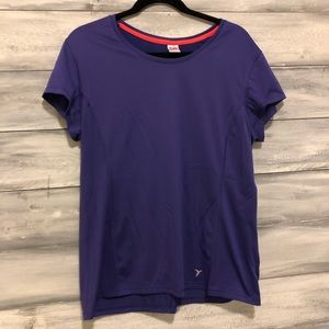 Old Navy Active Purple Athletic Tee